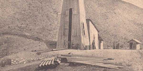 Cartolina ricerca del petrolio in Valsamoggia