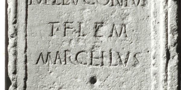 Cippo Romano ritrovato nella zona di Mongiorgio Merlano