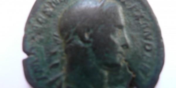 Moneta romana trovata a Bortolani