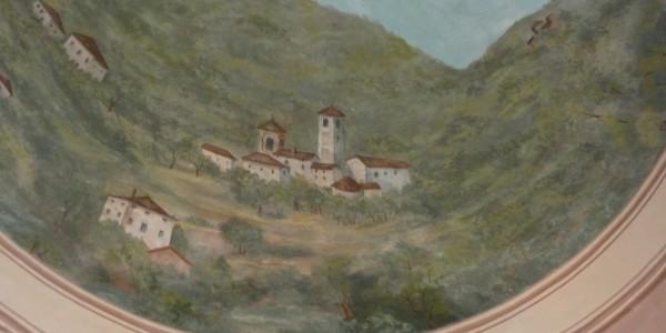 Restauro dipinto campanile Samoggia